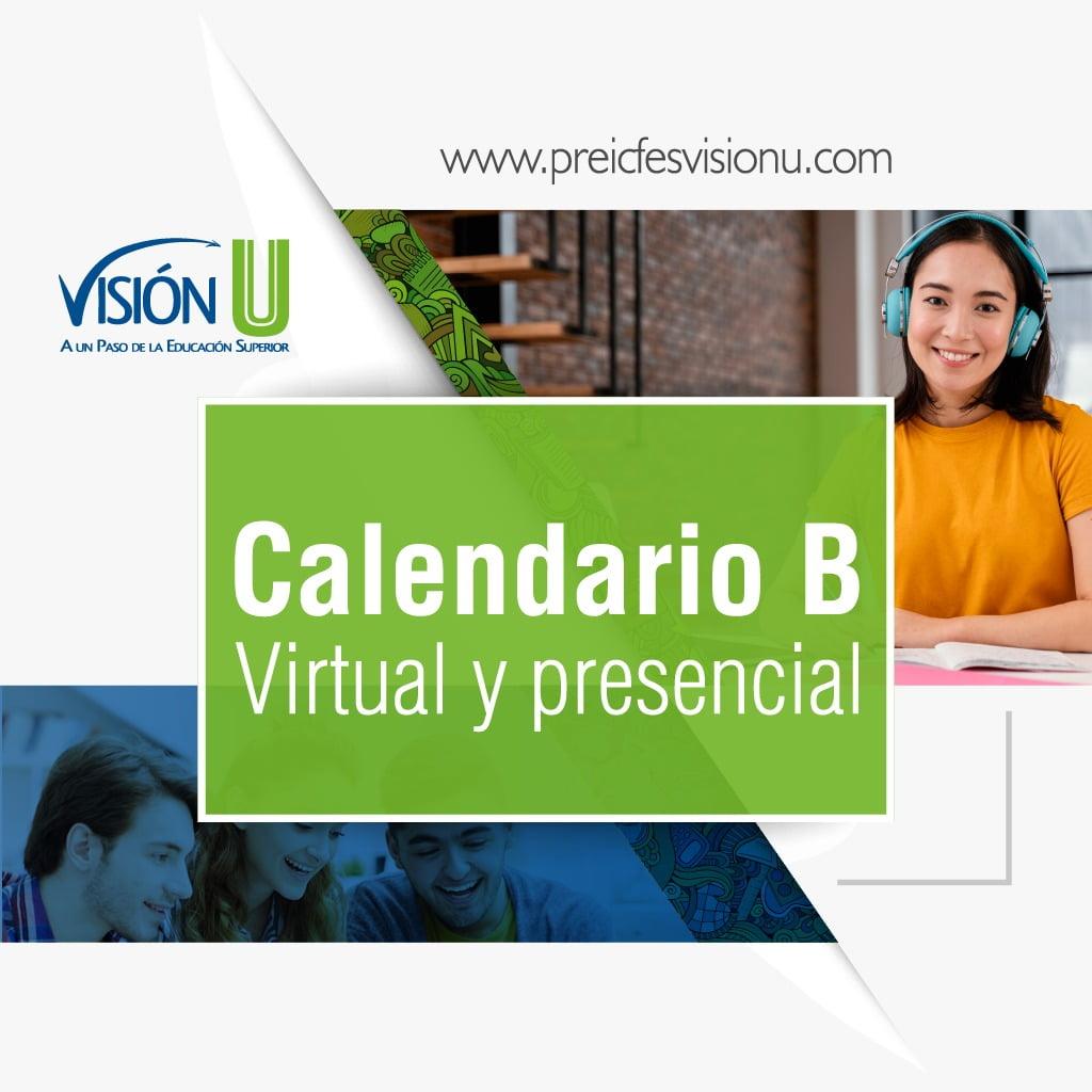 Calendario B - Virtual y Presencial